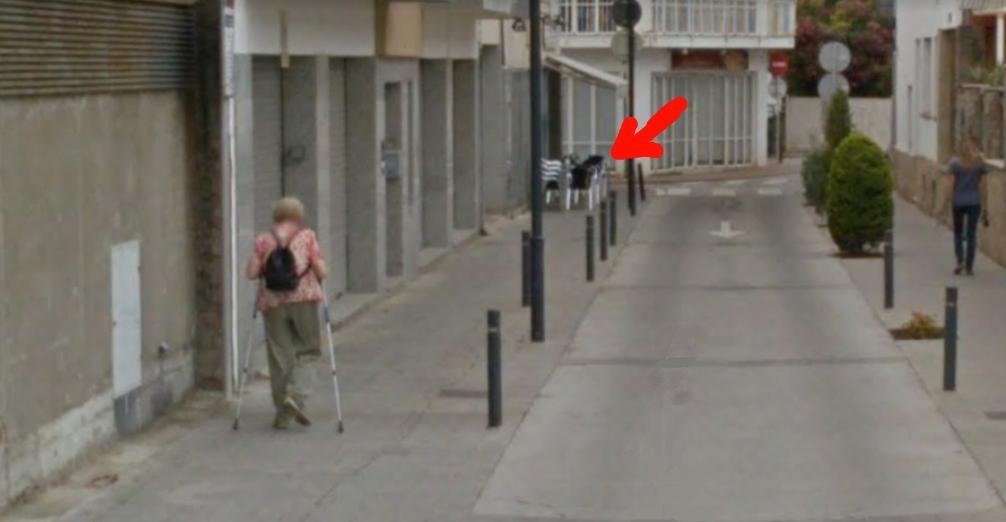 Bar cantonada discapacitats estartit